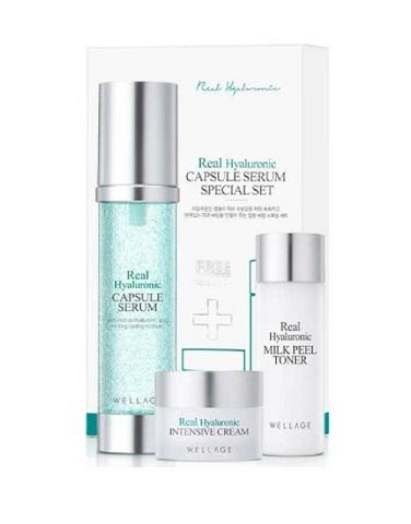Wellage Real Hyaluronic Capsule Serum now available at Timeless UK. Visit us at www.timeless-uk.com for product details and our latest offers!