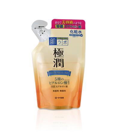 HADA LABO Goku-Jyun Premium Hyaluronic Acid Lotion (Toner) Refill - 170ml - Now superseded by the HADA LABO Goku-Jyun Premium Hyaluronic Acid Lotion (Toner) (Renew 2020 version) REFILL