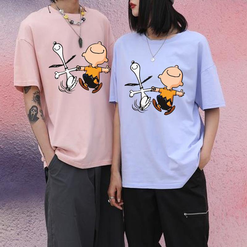 Snoopy & C.Brown Tee | Cotton