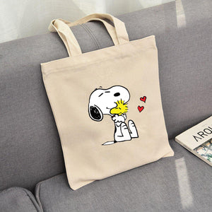 ESNOOPY™ - Cute canvas bag - Esnoopy