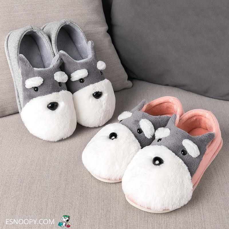Esnoopy™ Slippers - Schnauzer Shoes shoes Esnoopy