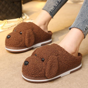 Esnoopy™ Slippers - Warm Shoes shoes Esnoopy Brown 6