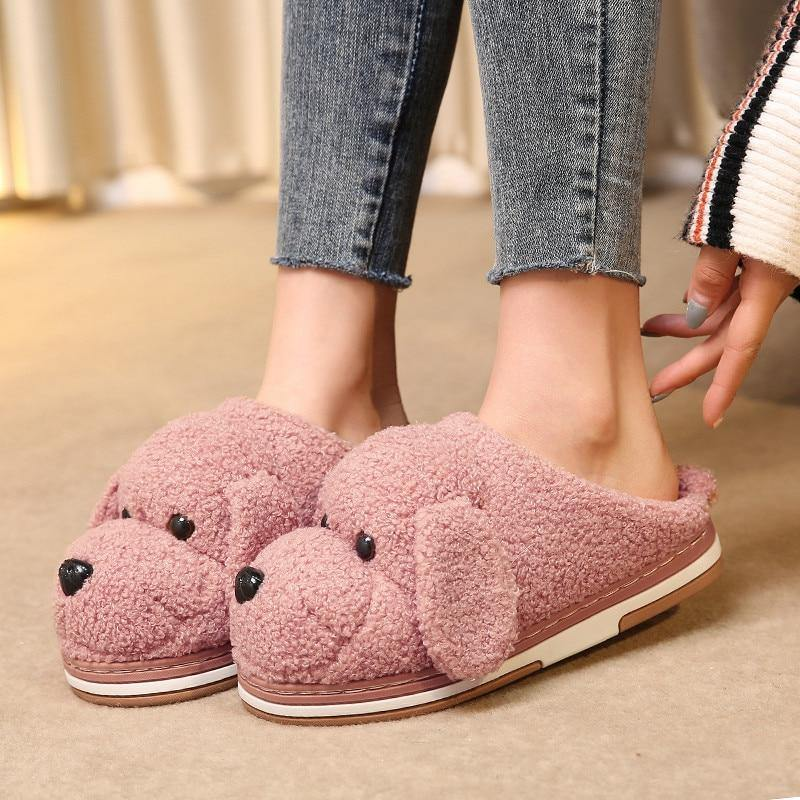Esnoopy™ Slippers - Warm Shoes shoes Esnoopy Pink 6