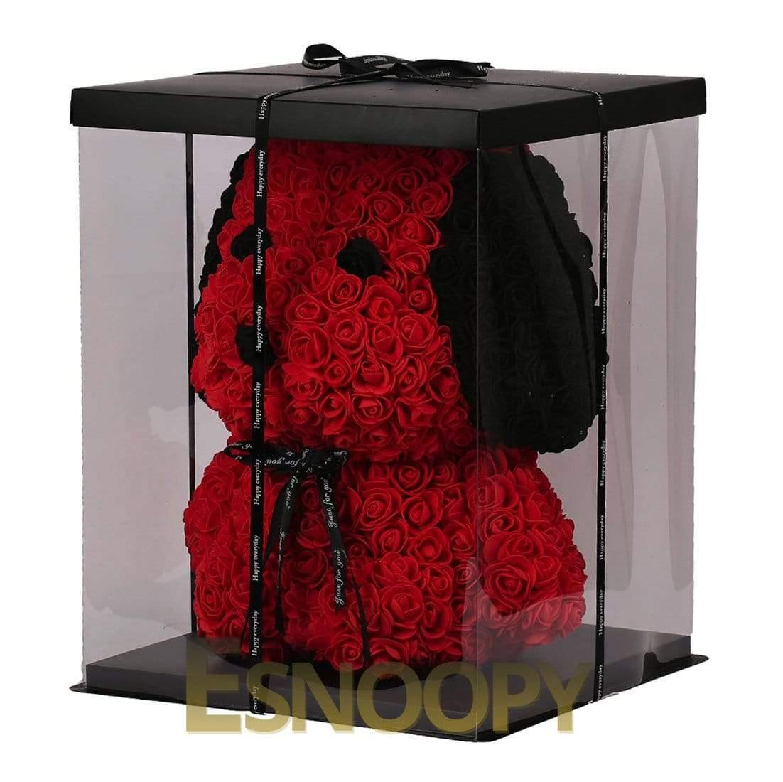 Esnoopy™ Teddy Rose 🌹 toy Esnoopy Red 38cm
