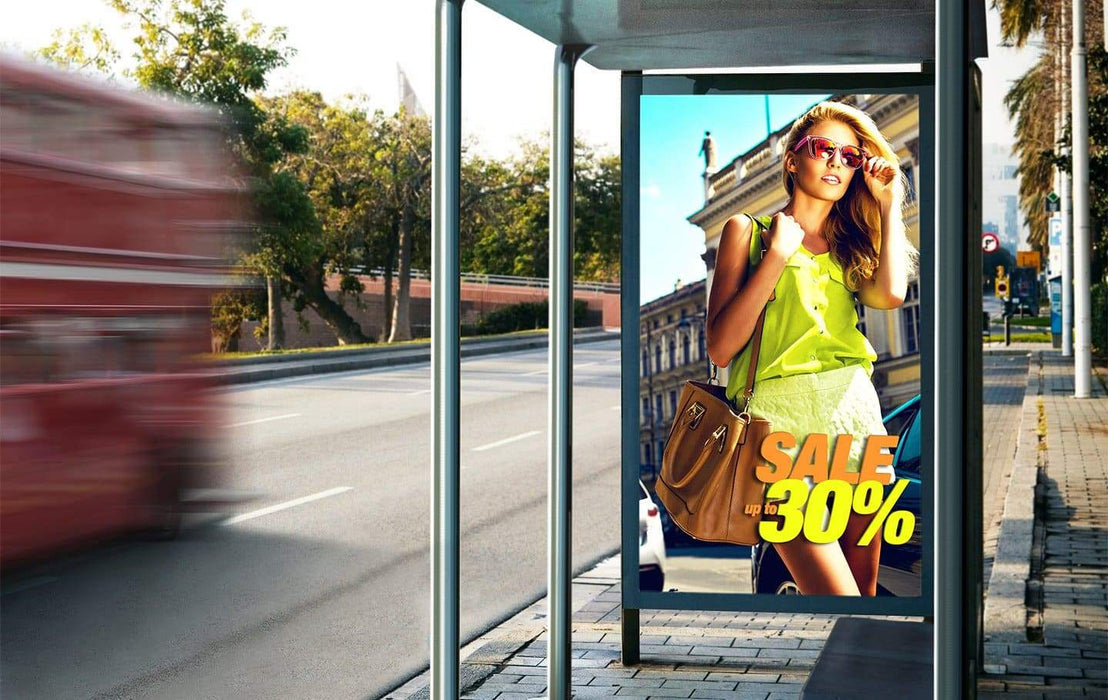 OHN-S Series 85 Single-Sided Outdoor Display With