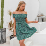 Little Green Dress Fleurie - S