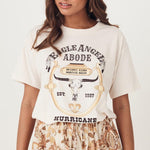T-shirt vintage Hurricane Valley - S