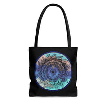Load image into Gallery viewer, Cold Classic Lotus Mandala Tote Bag