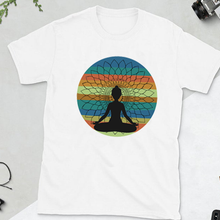 Load image into Gallery viewer, Meditation Mandala Unisex Cotton Tee