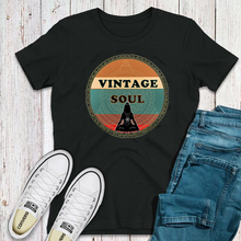 Load image into Gallery viewer, Vintage Soul Mandala Unisex Cotton Tee