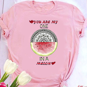 You Are My One Mandala Unisex Cotton Tee