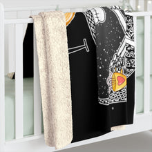 Load image into Gallery viewer, Love You To The Moon And Back Mandala Sherpa Fleece Blanket