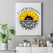 Load image into Gallery viewer, Unconscious World And Sunflower Mandala Premium Matte Vertical Posters