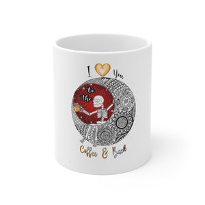 Love You To The Coffee And Back Mandala Mug