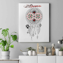 Load image into Gallery viewer, Dream Catcher Mandala Premium Matte Vertical Posters