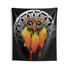 Load image into Gallery viewer, Owl Dream Catcher Mandala Wall Tapestries