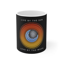 Load image into Gallery viewer, Live Love Sun & Moon Mandala Mug