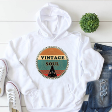 Load image into Gallery viewer, Vintage Soul Mandala Unisex  Hooded Sweatshirt