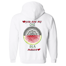 Load image into Gallery viewer, You Are My One Mandala Unisex Hooded Sweatshirt