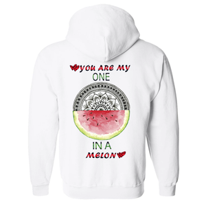 You Are My One Mandala Unisex Hooded Sweatshirt