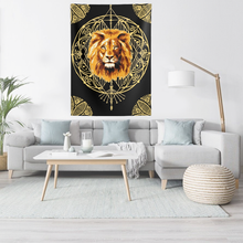 Load image into Gallery viewer, Lion Mandala Wall Tapestries