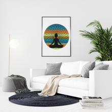 Load image into Gallery viewer, Meditation Mandala Premium Matte Vertical Posters