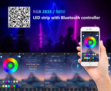 Load image into Gallery viewer, LuxLuxury - Bluetooth LED Strip Lights 5-20M RGB