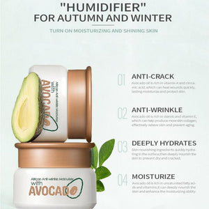 African Anti Wrinkle Moisturiser With Avocado
