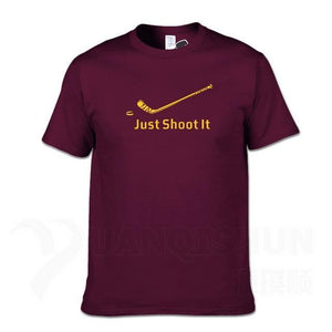 Just Shoot it T-Shirt - Powershooter Pro