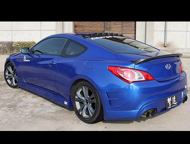 CS996RB ChargeSpeed Bumper Rear 2010-12 Hyundai Genesis Coupe