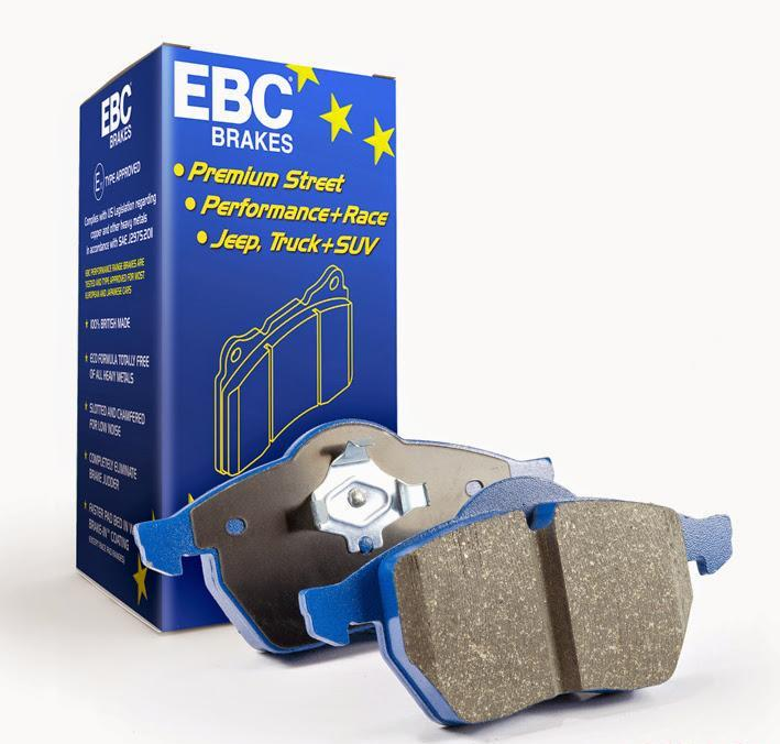 DP51140NDX EBC Disc Brake Pad Set Front 4Cyl 2.0L 2010-16 Hyundai Genesis Coupe