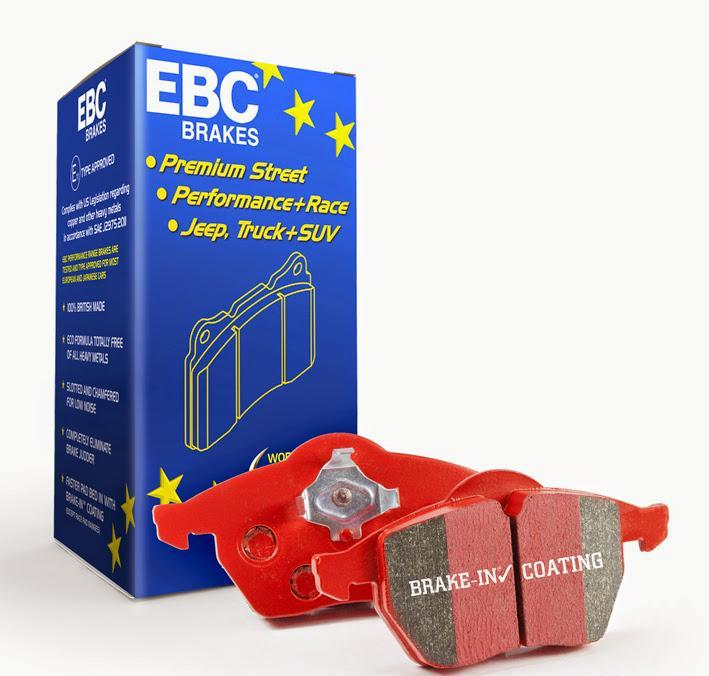 DP33077C EBC Disc Brake Pad Set Rear V6 3.3L 2017-20 Genesis G90