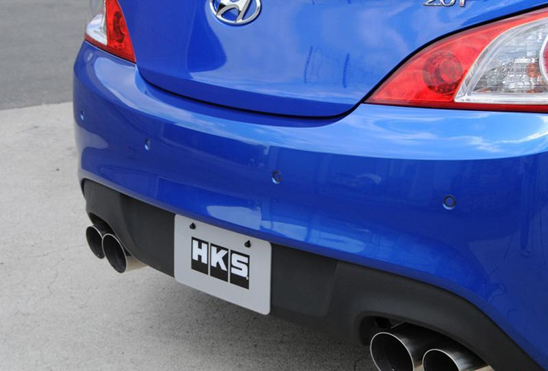 31021-KB001 HKS Catback Exhaust 4Cyl 2.0L 2010 Hyundai Genesis Coupe
