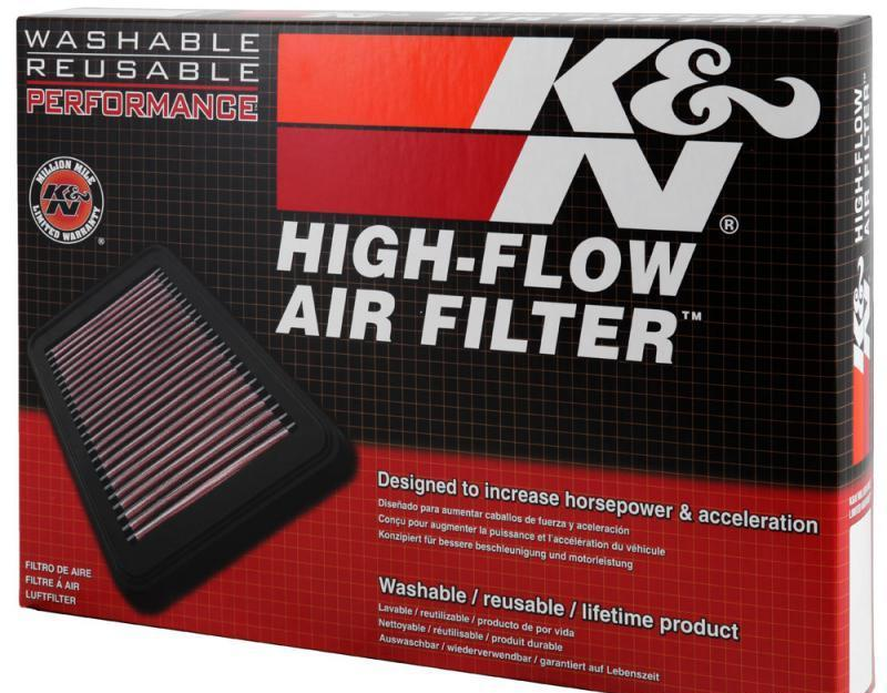 33-5073 K&N Replacement Air Filter 4Cyl 2.0L 2019 Genesis G70