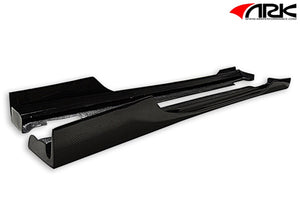 ARK Performance S-FX Carbon Fiber Side Skirts - Genesis Coupe