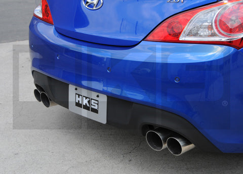 31021-KB002 HKS Exhaust Rear 4Cyl 2.0L 2010 Hyundai Genesis Coupe