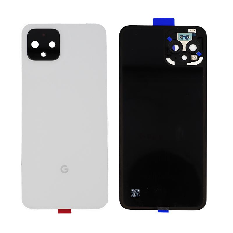 Google Pixel 4 Rear Glass Panel in White
