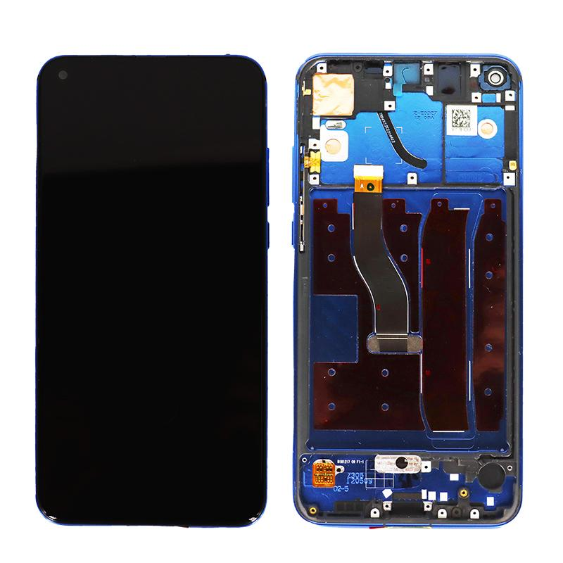 Huawei Honor V20 Replacement LCD Touch Screen Frame in Blue