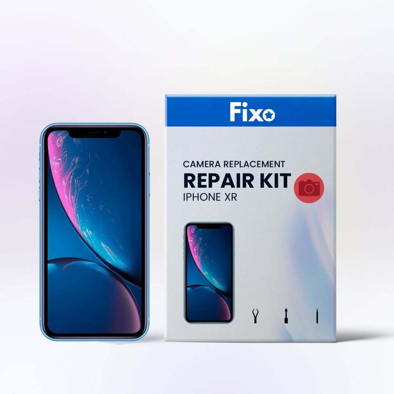Cracked Camera Lens Cover DIY Repair Kit for iPhone XR