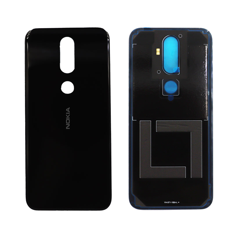 Nokia 4.2 Rear Glass Panel and Adhesive in Black