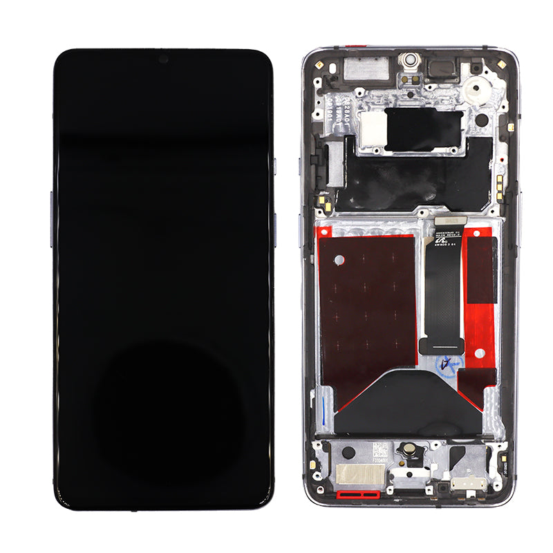 OnePlus 7T Replacement LCD Screen Assembly with Frame