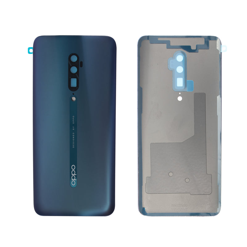 Oppo Reno 10X Zoom Replacement Rear Glass Panel in Fog Sea Green