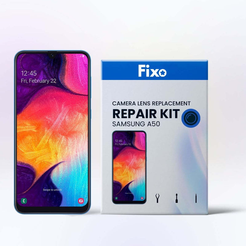 Samsung Galaxy A50 DIY Camera Glass Repair Kit