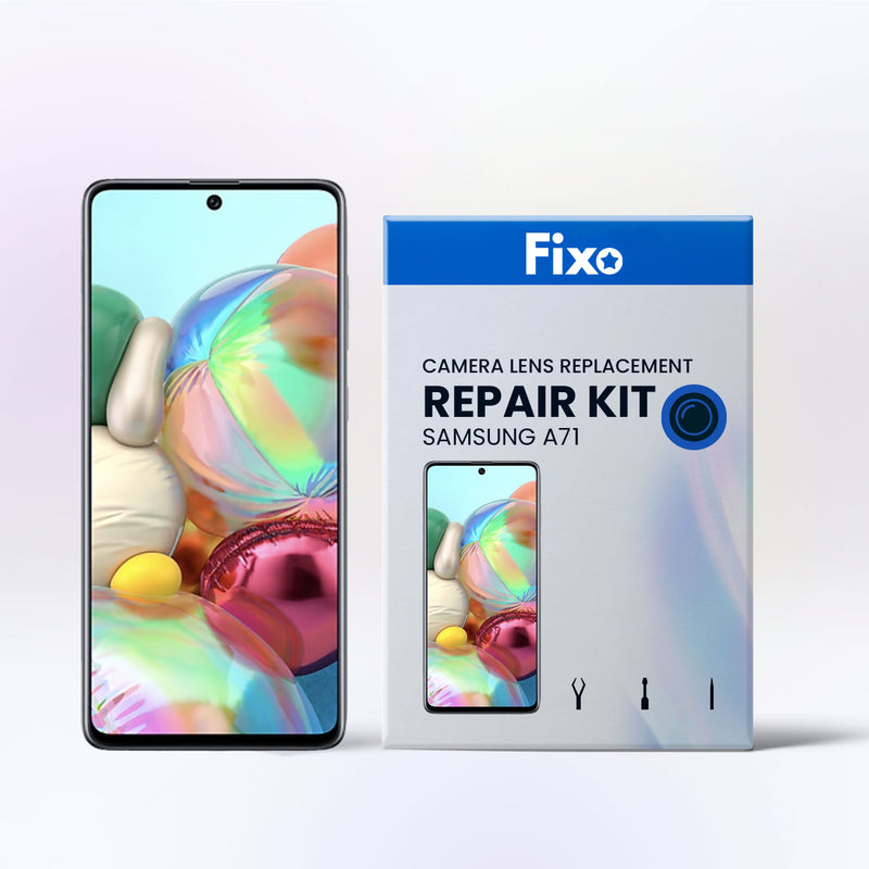 Samsung Galaxy A71 DIY Rear Camera Glass Repair Kit