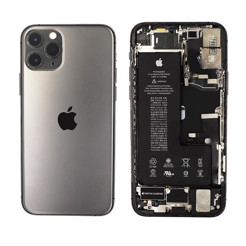 Compatible iPhone 11 Pro Max Rear Glass Housing and Frame Assembly