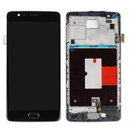 OnePlus 3T Replacement Screen with Frame in Black