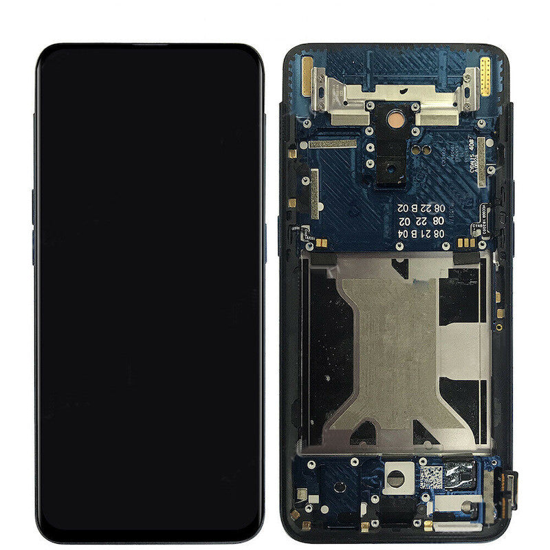 Oppo Find X Replacement LCD / OLED Screen Assembly with Frame