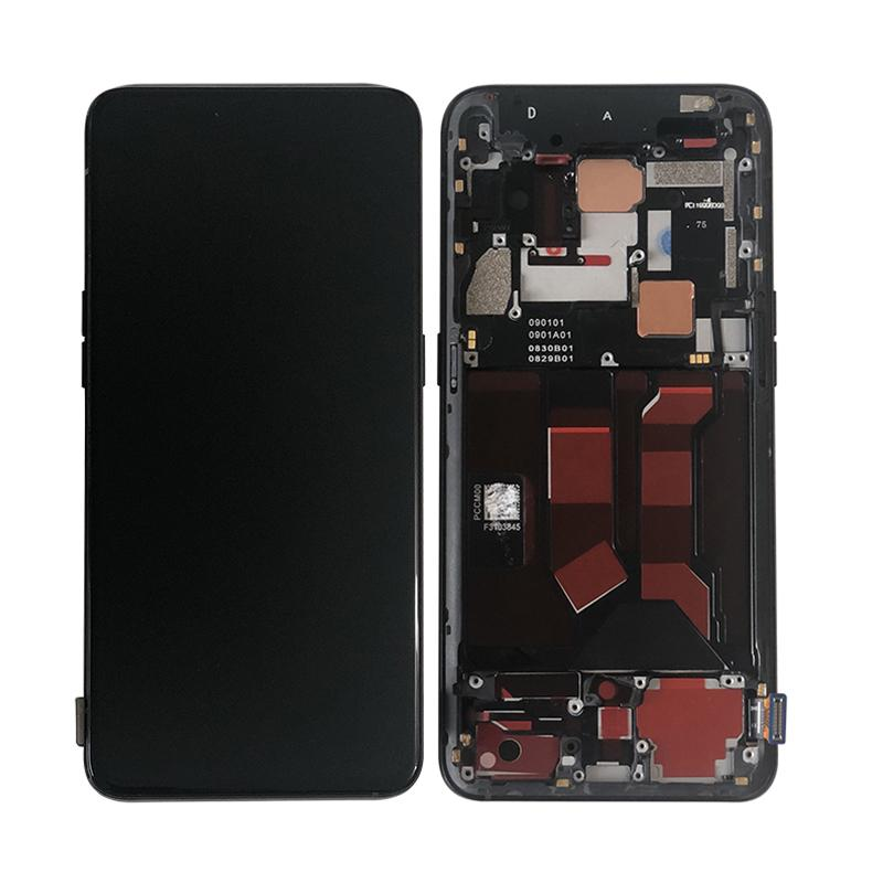 Oppo Reno 10x Zoom / 5G Replacement LCD Screen with Frame in Black