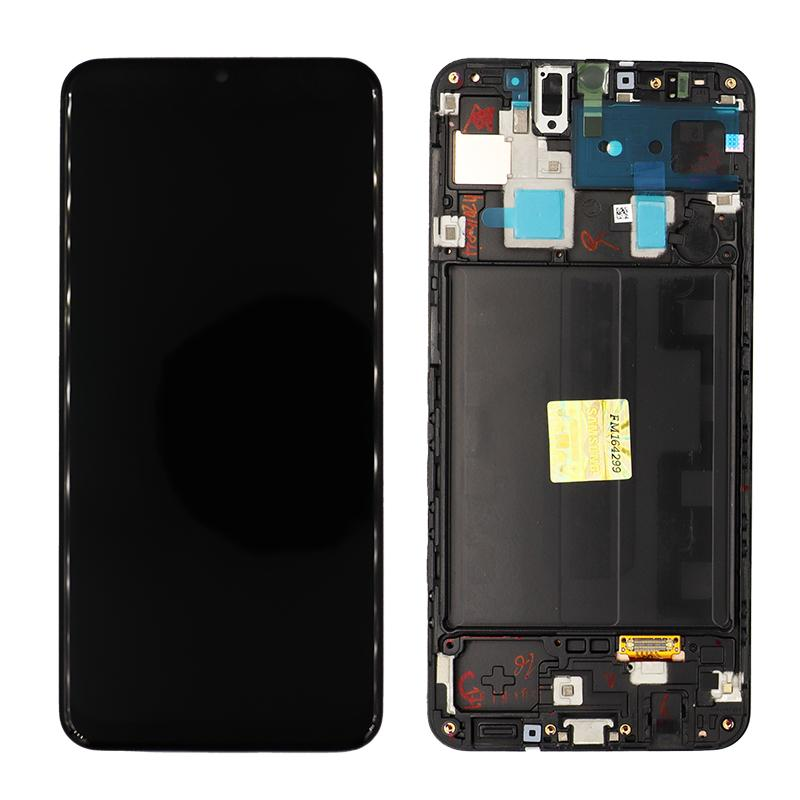 Samsung Galaxy A30 Replacement LCD Screen Frame OEM Service Pack