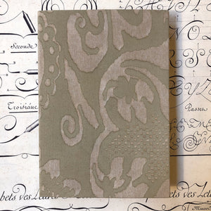 "Refill notebook cloth ""Fortuny"" / ""Fortuny"" レフィル布カバーノート"